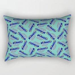 Duett Pattern Rectangular Pillow