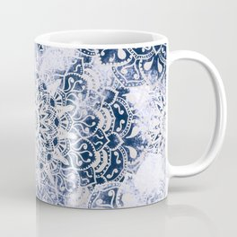 MANDALA WONDERLAND IN BLUE Coffee Mug