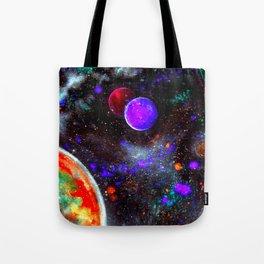 Intense Galaxy Tote Bag