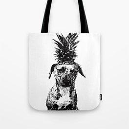 Pineapple Pup Tote Bag
