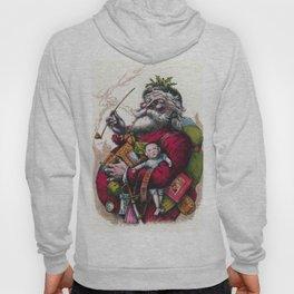 Victorian Santa Claus - Thomas Nast Hoody
