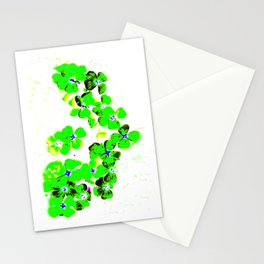 Green Heart Stationery Cards
