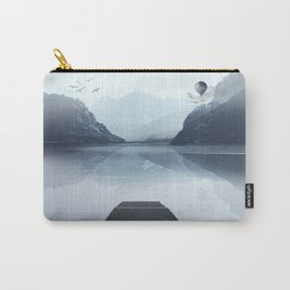 Misty horizon Carry-All Pouch