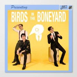 Birds in the Boneyard: Album Cover Canvas Print