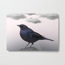 Storm Bird Metal Print