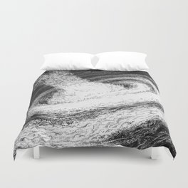 Galaxy Particles Infinite Duvet Cover