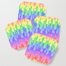 Rainbow Slime Coaster