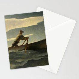 The Lobsterman, The Doryman, 1944 by Newell Convers Wyeth Stationery Cards