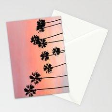 Blushing Palms Stationery Cards