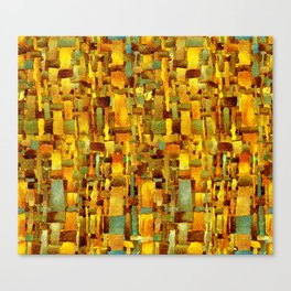 Gold and bronze Canvas Print