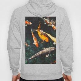 Geometric Koi Fishes Hoody
