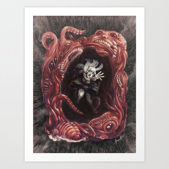 Within the Nightmare Art Print