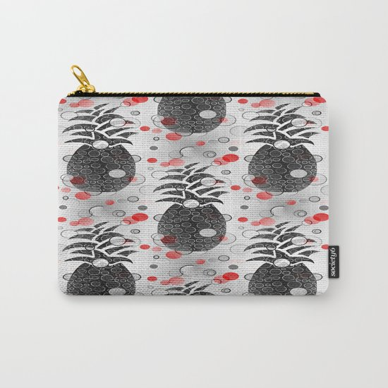 Pineapple Arrangement Carry-All Pouch