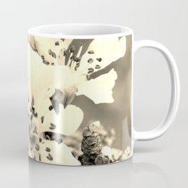 Sepia Spring Blossoms Coffee Mug