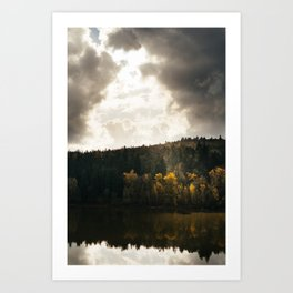 River // Autumn Art Print