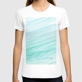 Seawall-blue and white T-shirt