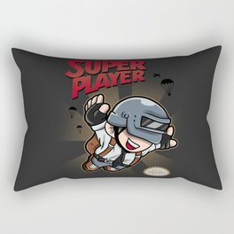 Super Player Rectangular Pillow
