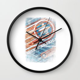 Steve Rodgers / The First Avenger  Wall Clock