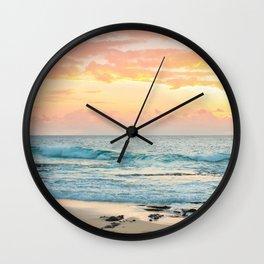 Honolulu Sunrise Wall Clock