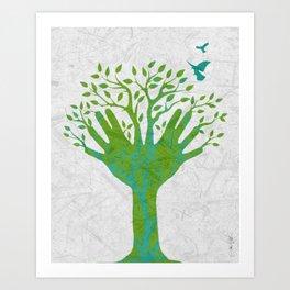 Giving Tree Art Print