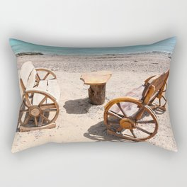 Conversation Starter Rectangular Pillow