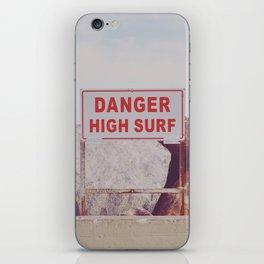 DANGER iPhone Skin