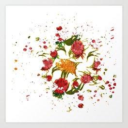 Beautiful Australian Native Floral Graphic Art Print