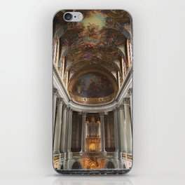 Looking Up at Chateau Versailles iPhone Skin