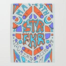 Star Fucker Band Poster Poster