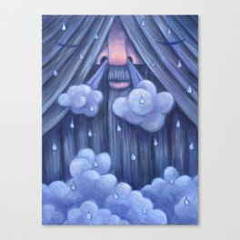 Rip Van Winkle in the Rain Canvas Print