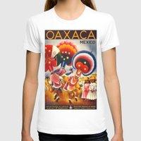 mexico T-shirts featuring MEXICO by Kathead Tarot/David Rivera