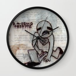 Two Missing Objects Wall Clock
