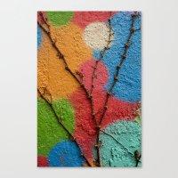 polka dots Canvas Prints featuring Polka Dots by Shy Photog