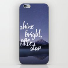 Shine Bright Little Star Night Sky iPhone & iPod Skin