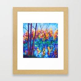 The River Song Framed Art Print