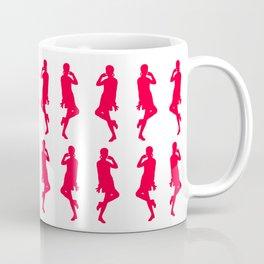 Rouge Bold Mod GoGo Girls Coffee Mug