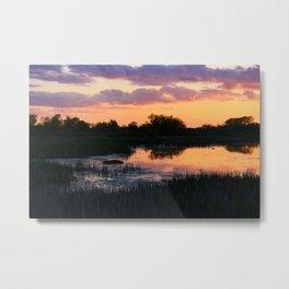Perfect Pastel Spring Sunset Metal Print