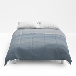 Blue Morning Comforters