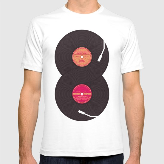 infinity vinyl records T-shirt