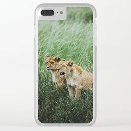 Serengeti National Park, Tanzania II Clear iPhone Case