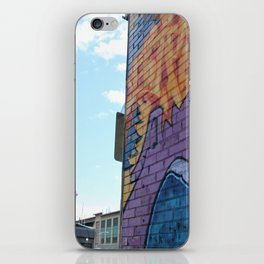 Art Central wall iPhone Skin