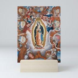 Virgin of Guadalupe, 1779 - Mexican Artwork Mini Art Print