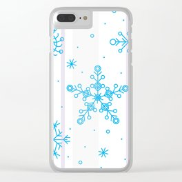 Let it snow! Clear iPhone Case