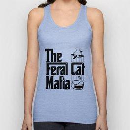 The Feral Cat Mafia (BLACK printing on light background) Unisex Tank Top