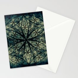 Sacred Geometry for your daily life -  ESOTERIC FLOWER OF LIFE Stationery Cards