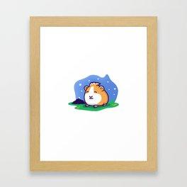 Poop in the Night Framed Art Print