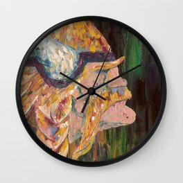 Purple Pride Wall Clock