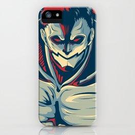 Armored Titan - Warrior iPhone Case