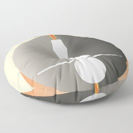Ranger Exploration & Photography of the Moon Floor Pillow