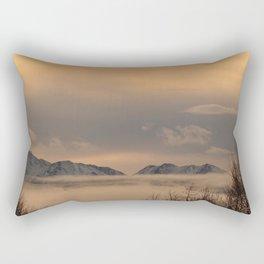 Winter Fog - II Rectangular Pillow